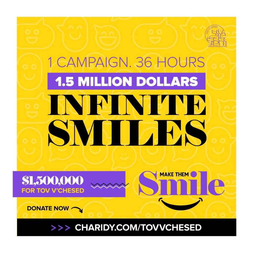Make Them Smile Campaign – Thank You for making it a success!