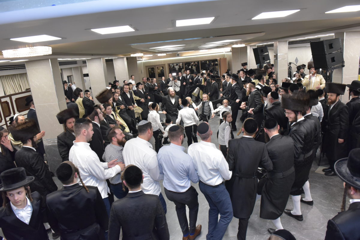 Uplifting Simcha Bais Hashiava Celebrated by Orphaned Boys and Girls this Chol Hamoed