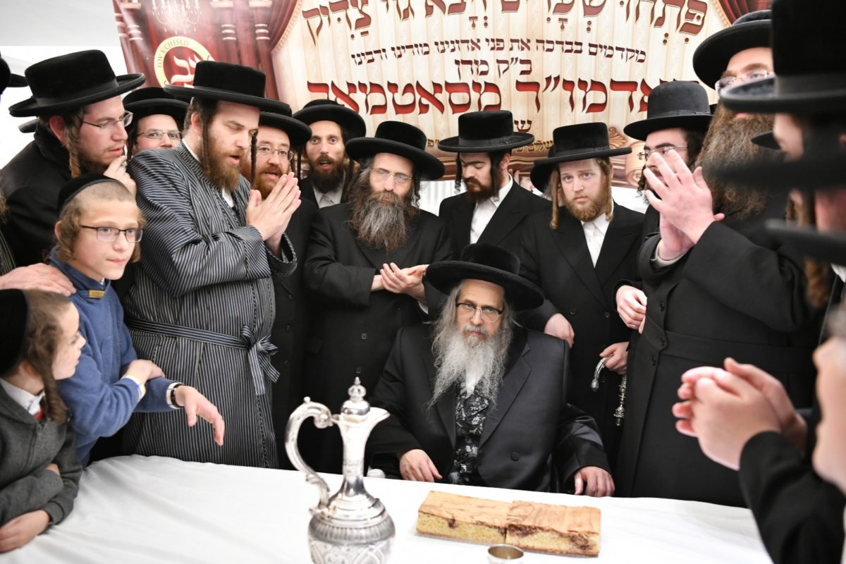 The Satmar Rebbe's Visit to Buneinu Leaves All Attendees Uplifted and Inspired.