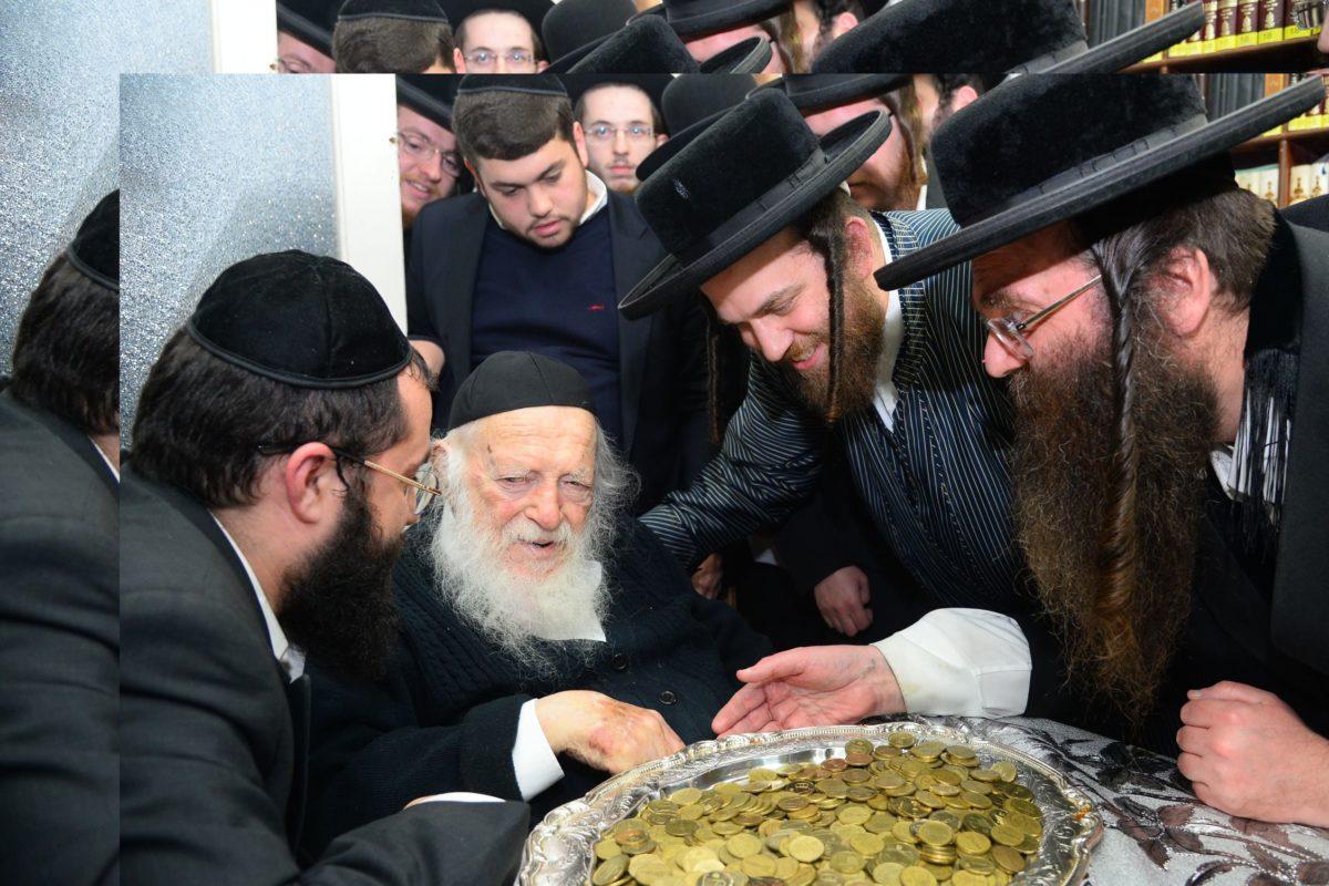 "Buneinu Orphans Enjoy an Uplifting Evening at Reb Chaim Kanievzky Shlit""a"